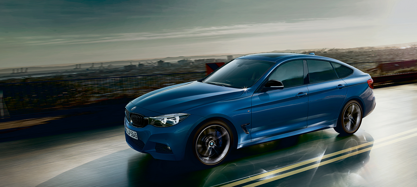 BMW 3 Series Gran Turismo, driving shot