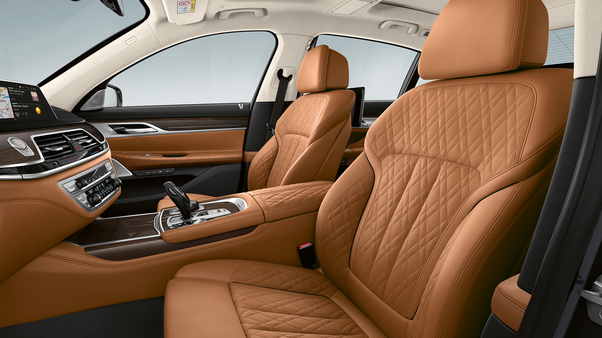 BMW 7 Series Saloon with Exterior Design Pure Excellence, Nappa leather upholstery