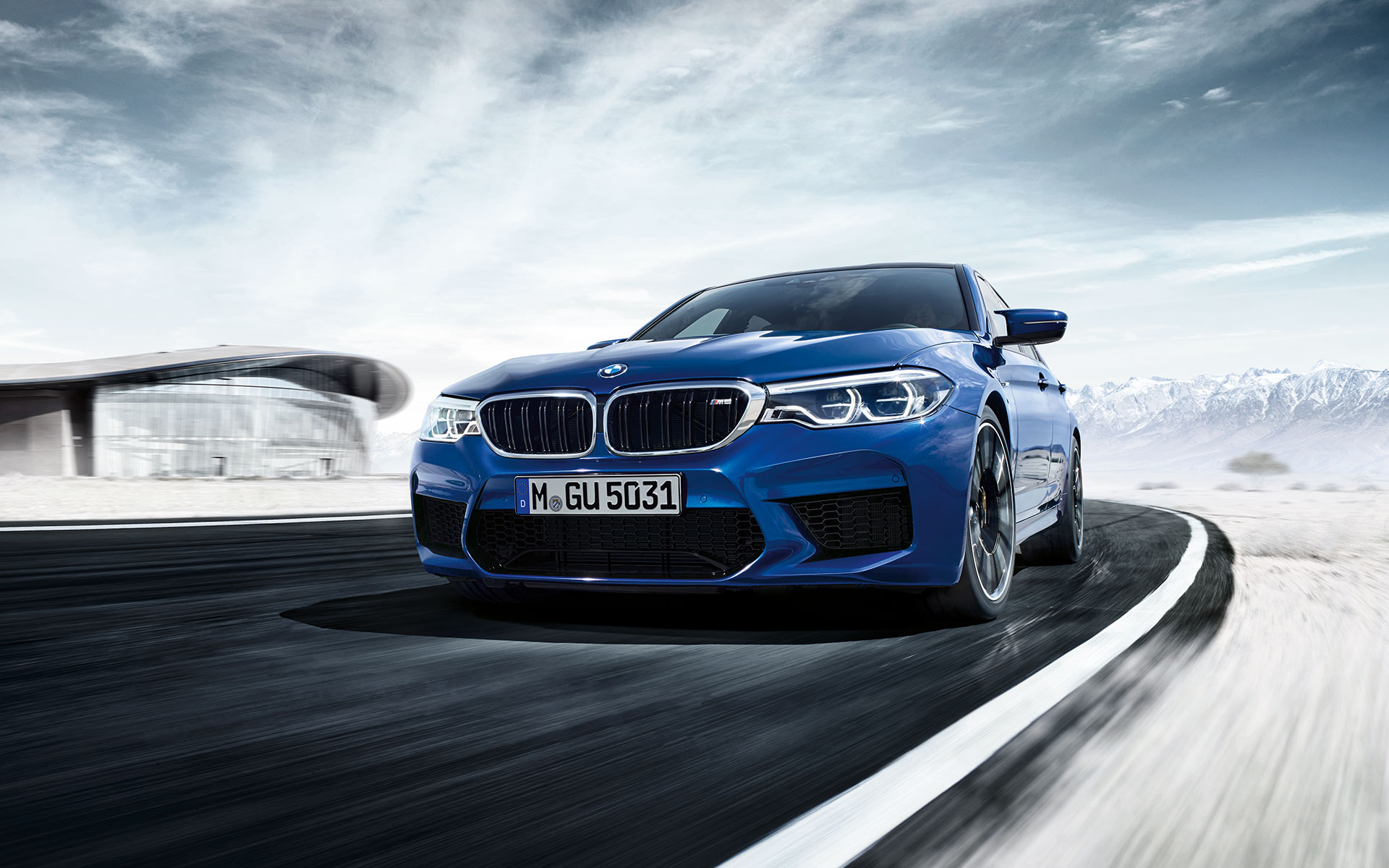 Bmw M5 With M Xdrive At A Glance Bmw