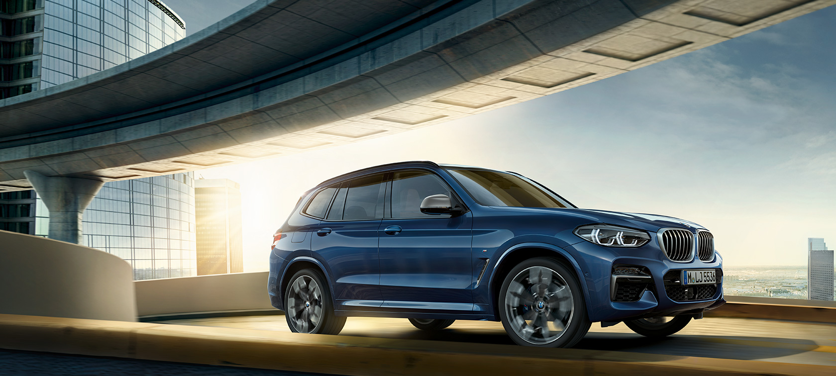BMW X3, technical data