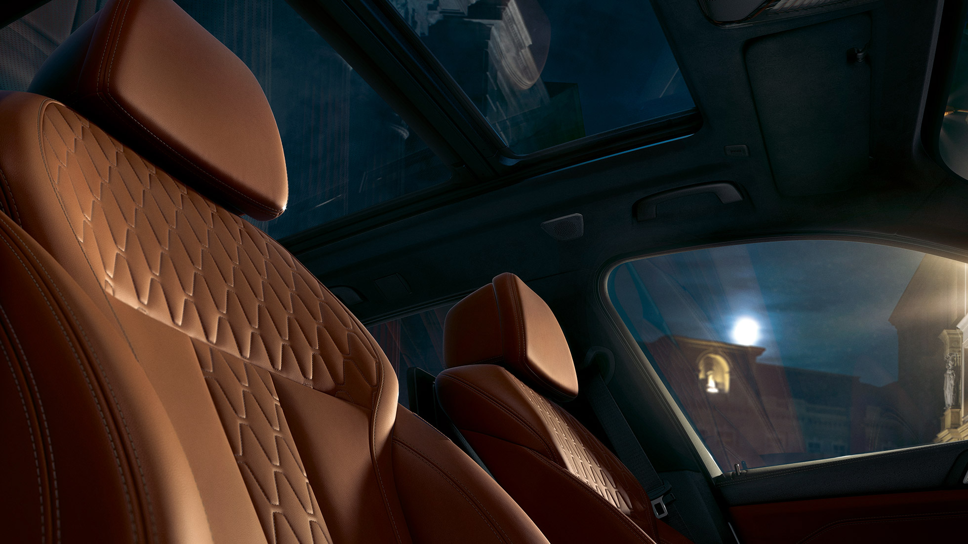 Leather seats BMW X5 G05 2018 interior