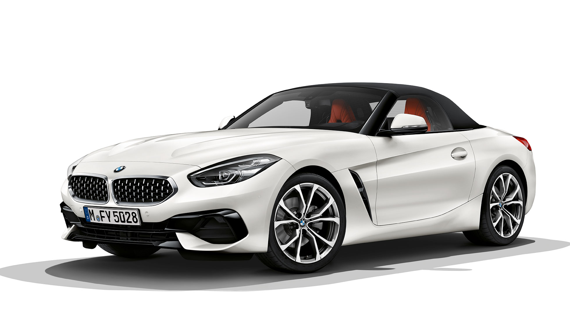BMW Z4 Roadster Model Sport Line, three quarter front shot