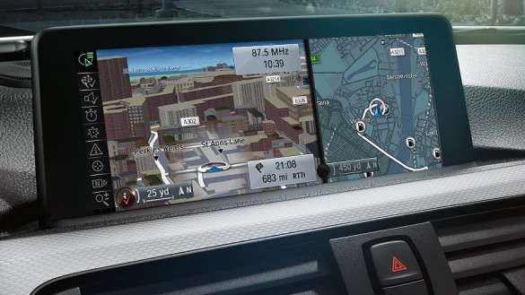 a design implemented completely in 3d combined with an innovative interface concept and numerous functions for navigation office and multimedia bmw office paintersjpg