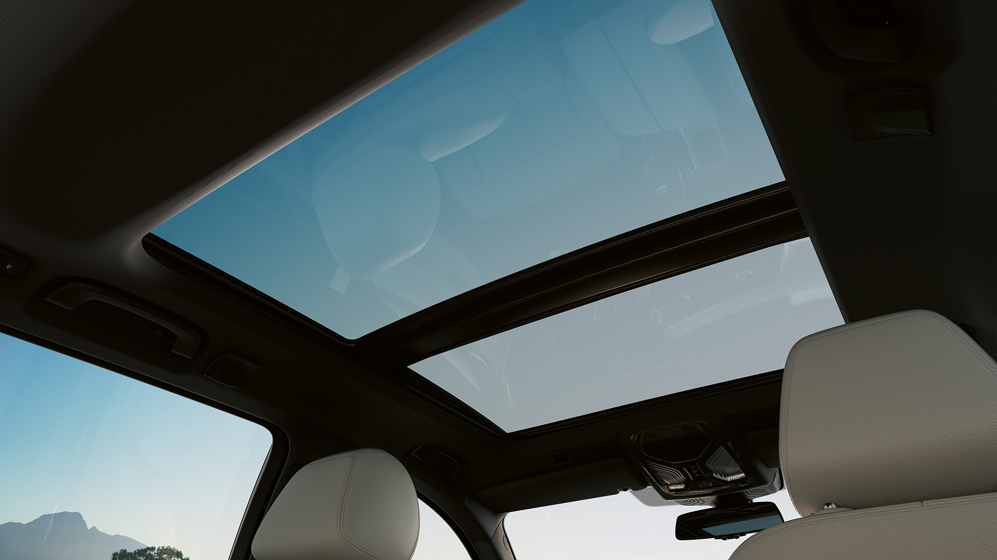 Panorama Glass roof BMW 5 Series Touring G31 Facelift 2020 Sophisto Grey interior