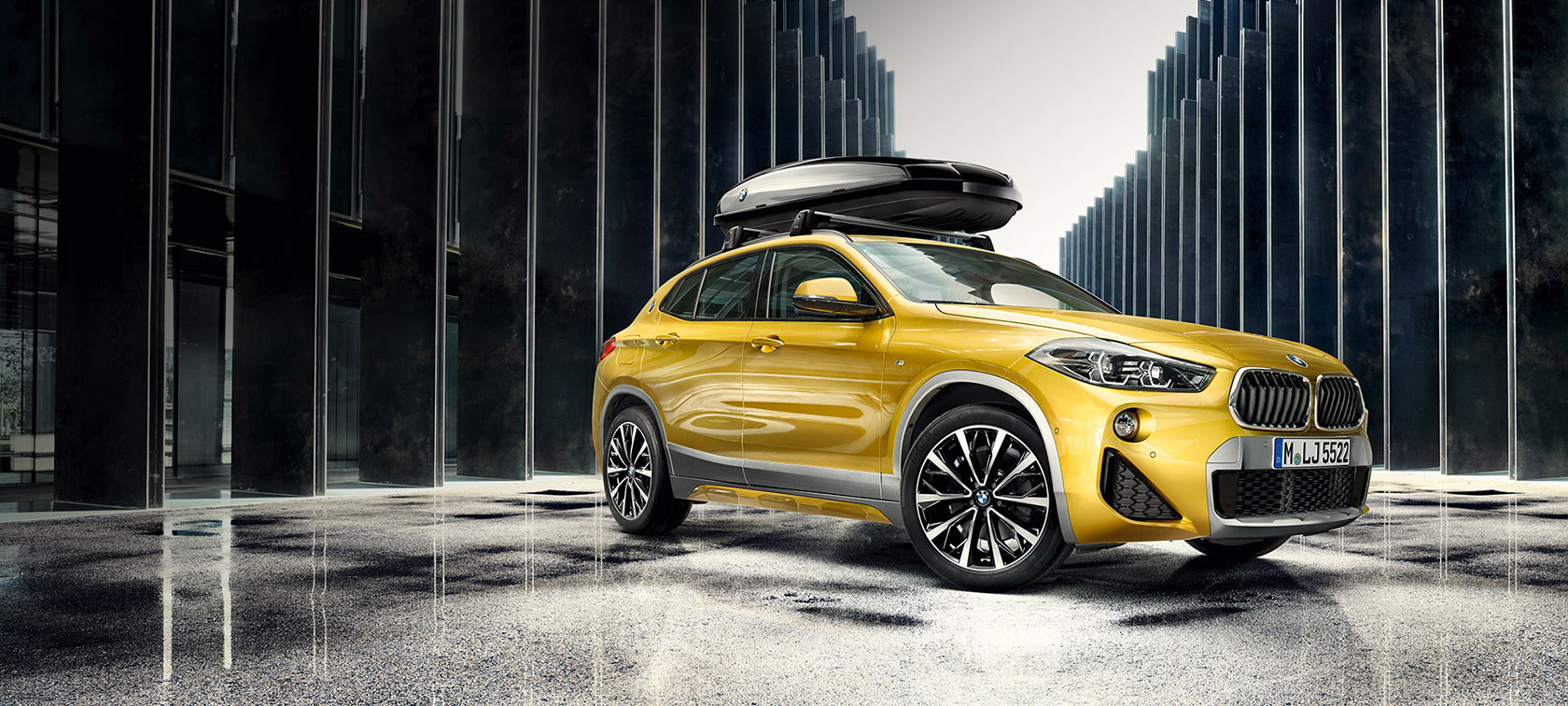 BMW X2 with accessories